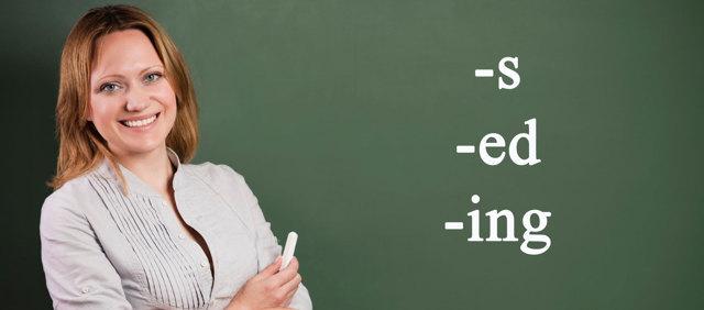 Закінчення В Англійській Мові - Вживання Закінчень Ing, Ed, S - Учим английский вместе