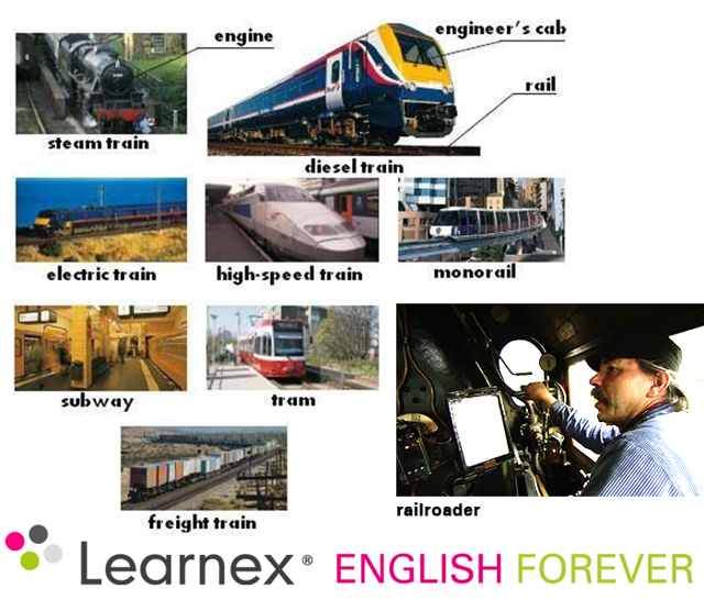 Урок 33: Лексика Для Общения На Вокзале - Учим английский вместе