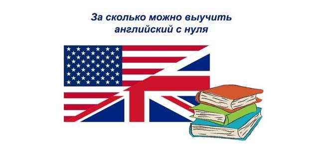 За Сколько Можно Выучить Английский: Сколько Времени Нужно На Изучение С Нуля - Учим английский вместе