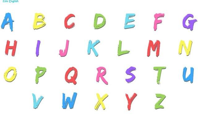 Английский Алфавит С Произношением И Транскрипцией - Буквы Английского Алфавита - Учим английский вместе