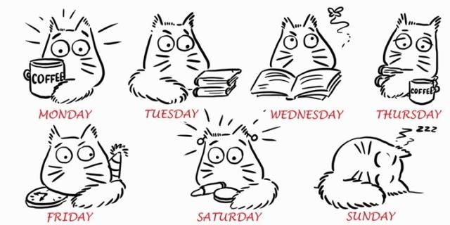 Почему Дни Недели В Английском Языке Называются Именно Так?? - Учим английский вместе