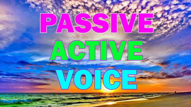 Активный И Пассивный Залог - Учим английский вместе