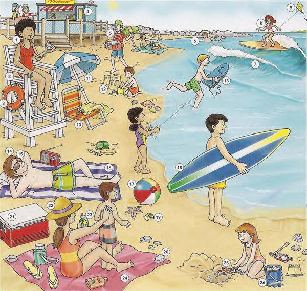 Я На Солнышке Лежу (на Английском Пляже) - Учим английский вместе
